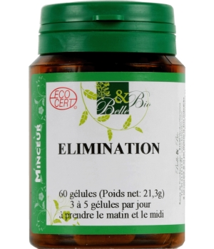 Belle et Bio Elimination bio 60 gélules