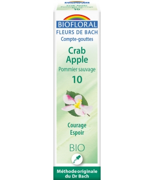 Biofloral Elixir Crab Apple n° 10 Pommier sauvage  20ml