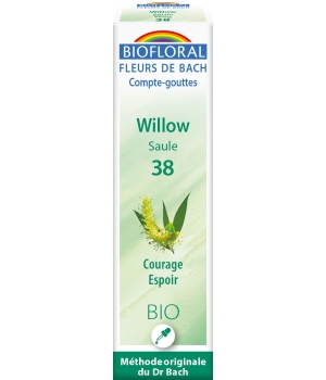 Biofloral Elixir Willow n° 38 Saule 20ml