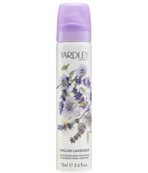 English Lavender Déodorant parfumé Spray Yardley