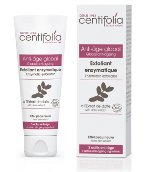 Centifolia Exfoliant enzymatique anti âge global à l'extrait de Datte 70ml