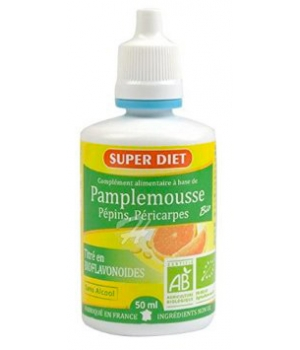 Super Diet Extrait de Pépins de Pamplemousse 400mg flacon de 50ml
