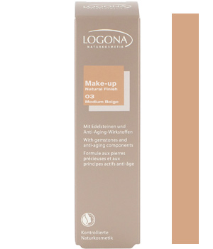 Logona Fond de teint natural finish n°3 Medium Beige 30ml