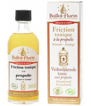 Ballot Flurin Friction Tonique à la propolis 100ml