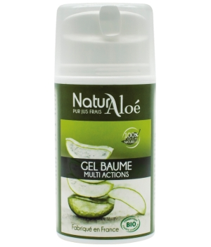 NaturAloe Gel baume d'Aloé Vera flacon 50ml