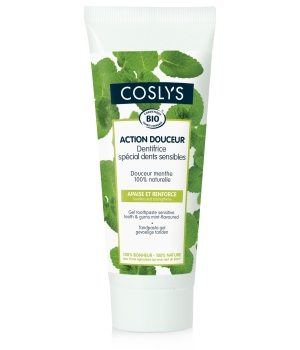 Coslys Dentifrice spécial dents sensible Action douceur 75ml