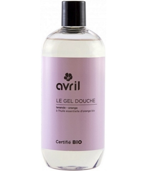 Avril Gel douche Lavande Orange 500 ml