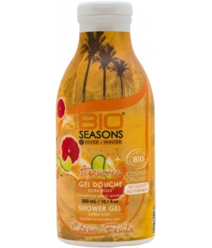 Bio Seasons Gel douche Agrumes 300ml