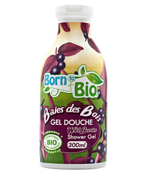 Born To Bio Gel douche Baies des bois 300ml