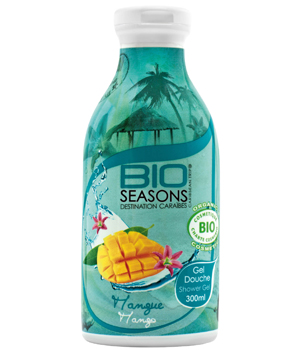 Bio Seasons Gel douche Destination Caraïbes Mangue 300ml