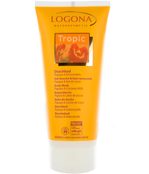 Logona Gel douche Tropic Papaye et Coco 200ml