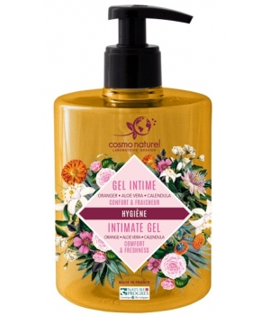 Cosmo Naturel Gel intime au PH doux 500ml
