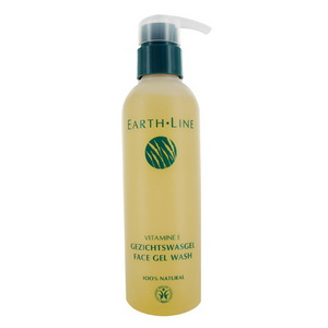 Earth Line Gel Lavant pour visage à la vitamine E 200ml