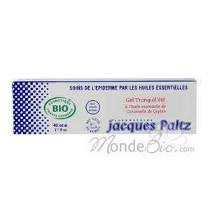 Jacques Paltz Gel Tranquil'été Citronnelle de Java 75ml