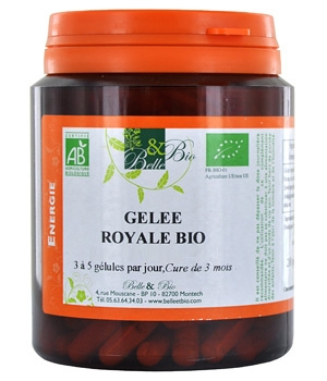 belle et bio lyophilized royal jelly 200 capsules 65g. Black Bedroom Furniture Sets. Home Design Ideas