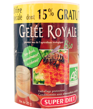 Super Diet Gelée Royale pot de 25g dont 15% gratuit