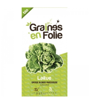 Graines En Folie Graines de Laitue grosse Blonde Paresseuse
