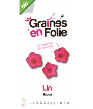 Graines En Folie Graines de Lin Rouge