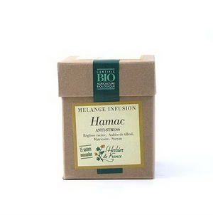 Herbier De France Hamac infusion Anti stress 15 mousselines, 30g