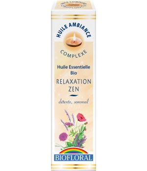 Biofloral Huile d'ambiance Relaxation Zen 10ml