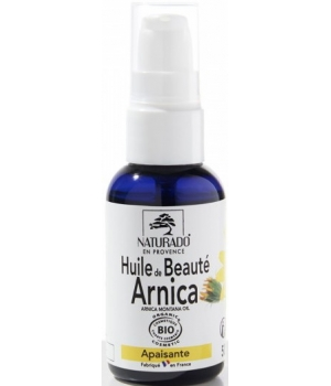 huile d arnica soulageante bleus bosses coups naturado 50ml. Black Bedroom Furniture Sets. Home Design Ideas