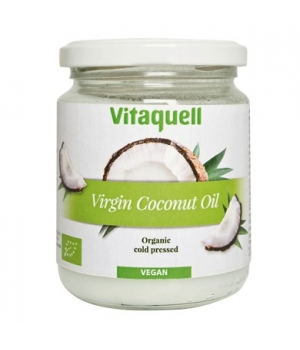 Vitaquell Virgin coconut oil for culinary pleasure & body care 200g