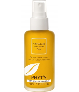 Phyts Huile solaire Ylang sans filtre 100ml