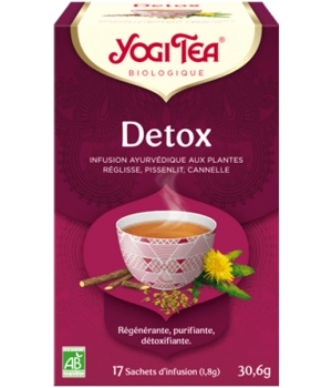 infusion detox 17 yogi tea 100gr. Black Bedroom Furniture Sets. Home Design Ideas