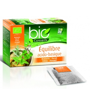 infusion equilibre acido basique bio 20 sachets bio conseils 30gr. Black Bedroom Furniture Sets. Home Design Ideas