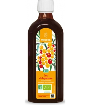 Weleda Jus d'argousier riche en vitamine C 200ml