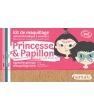 Maquillage bio Namaki Kit maquillage 3 couleurs Princesse et Papillon 35g