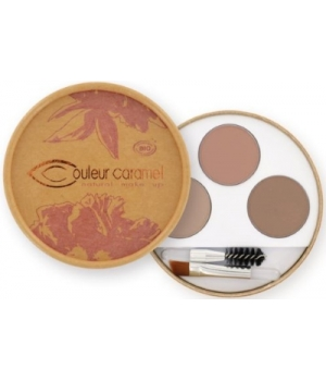 Couleur Caramel Kit sourcils Blondes 40g