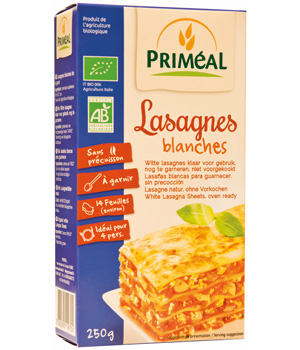 Primeal Lasagnes Blanches 250g