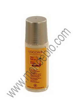 Logona Déodorant Roll on Tropical Ananas et Papaye 50ml