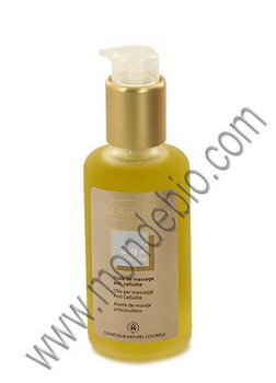 Logona Huile de massage anti cellulite Age Protection 100ml