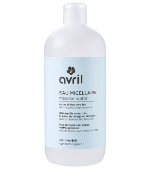 Avril Lotion micellaire Bleuet Aloe Vera 500ml