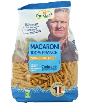 Primeal Macaroni demi complets 500g