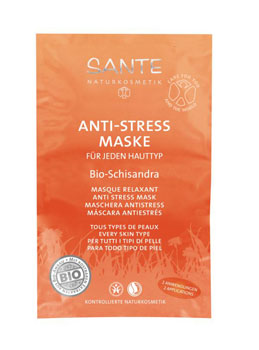 Sante Masque anti stress aux baies de Schisandra 2x7.5ml