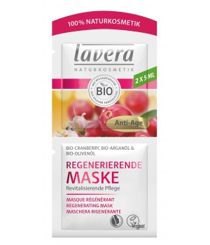 Lavera Masque Visage Anti Ride Cranberry et Argan 10 ml