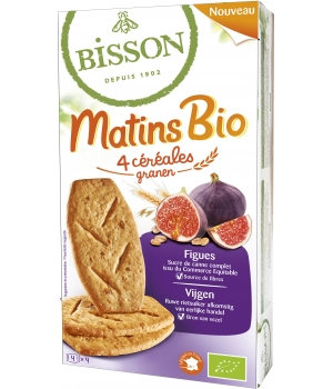 Bisson Matin bio Figues 200g