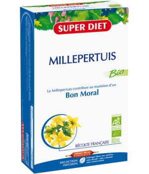 Super Diet Millepertuis Bio 20 Ampoules buvable de 15ml
