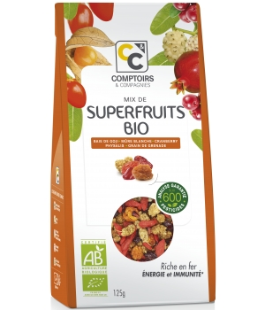Comptoirs Et Compagnies Mix de Superfruits 125g