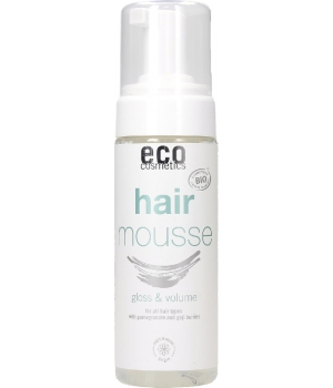 Eco Cosmetics Mousse coiffante brillance et volume Grenade et Baies de Goji 150ml