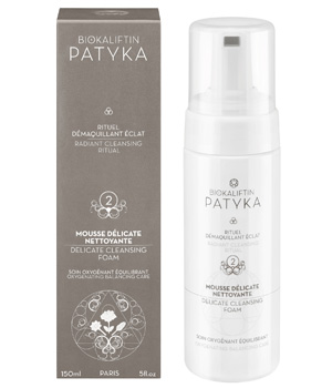 Patyka  Mousse Délicate Nettoyante Soin Oxygénant Equilibrant 150ml