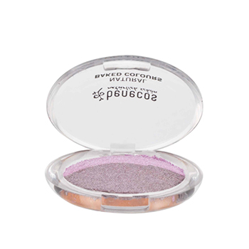 Benecos Ombre à paupières Baked Party duo rose / prune 2g