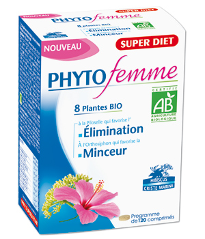Super Diet Phytofemme 45 + Frêne Elimination Bio 120 comprimés