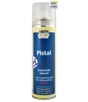 Aries Pistal Spray Insecticide au Pyrèthre naturel 200 ml