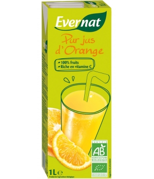 Evernat Pur Jus d'Orange 1 litre