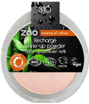 Zao  Recharge Shine Up Powder Champagne Rosé