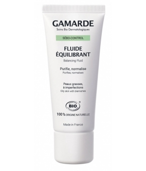 Gamarde Sebo control Fluide équilibrant peaux grasses tube 40g